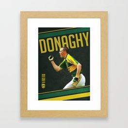 GAA Posters – Kieran Donaghy  Framed Art Print