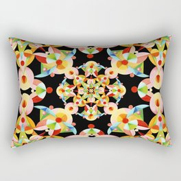 Kaleidoscope Fiesta Rectangular Pillow