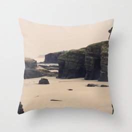 Las Catedrales Throw Pillow