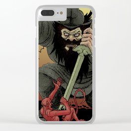 Shoki the demon queller Clear iPhone Case