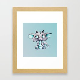 Baby Lavender Dragon Framed Art Print