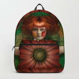 """Daisy Woman (Life of a Slave Girl)"" Backpack"