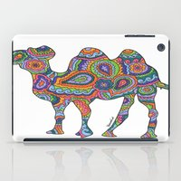 camel iPad Cases featuring Camel  by Shanaabird