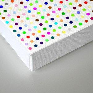 Hirst Polka Dot Canvas Print
