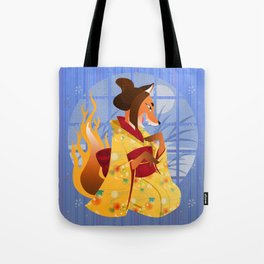 Silly Bestiary :Kitsune Tote Bag