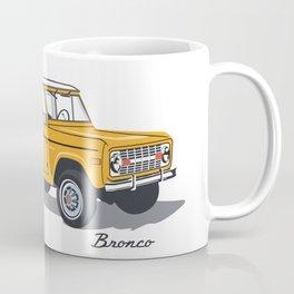 Orange Bronco Coffee Mug