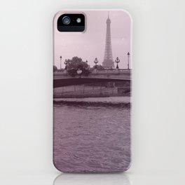 Respirer Paris... iPhone Case