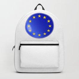 EU Button Backpack