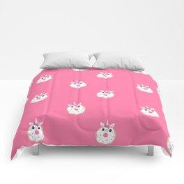 Donut Unicorn Comforters