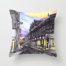 New Orleans at Sunset Throw Pillow