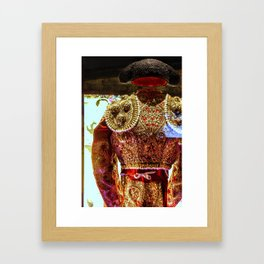 Suit of Lights Framed Art Print