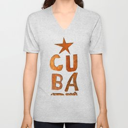 CUIN CUBA Unisex V-Neck