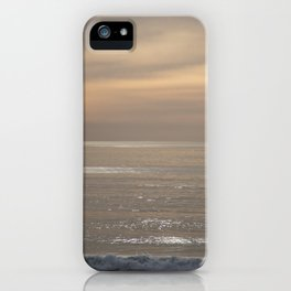 Shimmering Ocean Sunset iPhone Case