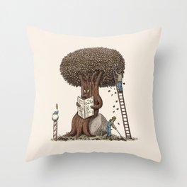 Just A Trim Throw Pillow