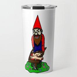Zombie Gnome Travel Mug