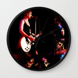 Maria McKee Live - Collage Wall Clock