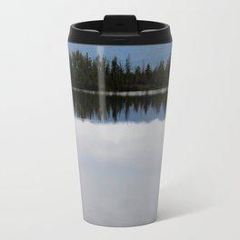 Mountain Reflection in the Lake Travel Mug