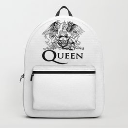 Queen Band Logo Backpack
