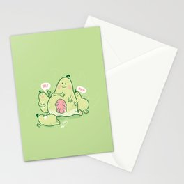 Pear & Milk Stationery Cards