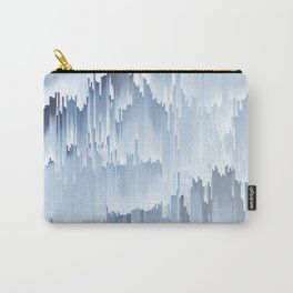 Waterfall glitch Carry-All Pouch
