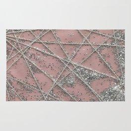 Sparkle Net Pink Rug
