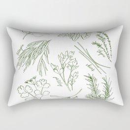 Herbs Rectangular Pillow