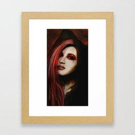 Missing Whisper Framed Art Print