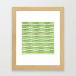 Evergreen hedge Framed Art Print