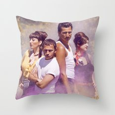 He's a Rebel Throw Pillow