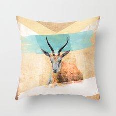 The Mirage Throw Pillow