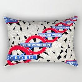 Meeting London's Needs Rectangular Pillow