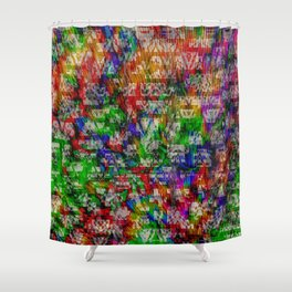 Pop Pattern Shower Curtain