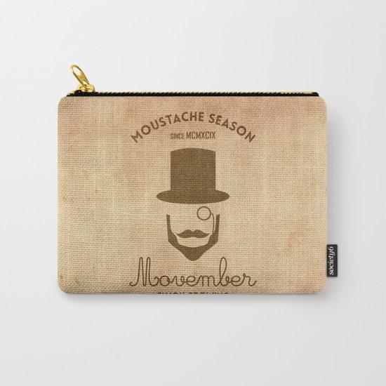 Moustache season Carry-All Pouch