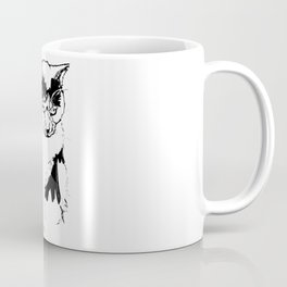 Kitty Knows Coffee Mug