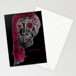 Sugar Skull Stationery Cards