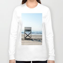 While the Lifeguards Away Long Sleeve T-shirt