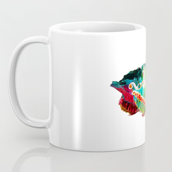 Colorsfull sheep skull Coffee Mug