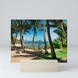 Kuau Beach Paia Maui North Shore Hawaii Mini Art Print