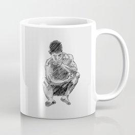 LEE - male figure drawing Coffee Mug