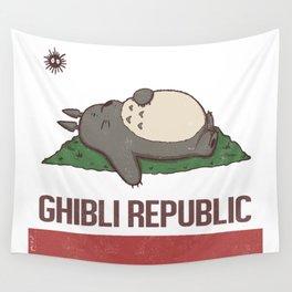 Ghibli Republic Wall Tapestry