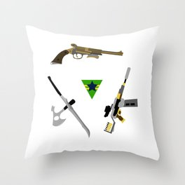 the weapons of firefly Throw Pillow