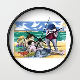 Fran and Friends Wall Clock