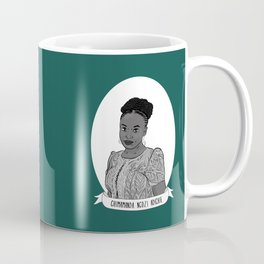 Chimamanda Ngozi Adichie Illustrated Portrait Coffee Mug