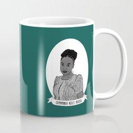 Chimamanda Ngozi Adichie Illustrated Portrait Coffee Mug