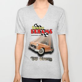 Happy Days with the Top Down Unisex V-Neck