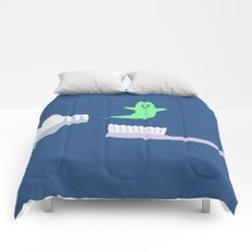 Ghost Paste Comforters