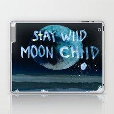 Stay wild moon child (dark) Laptop & iPad Skin