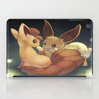 eevee iPad Cases featuring Eevee and Vulpix by Yamilett Pimentel