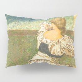"Edward Burne-Jones ""Dorigen de Bretaigne awaiting the return of her husband"" Pillow Sham"