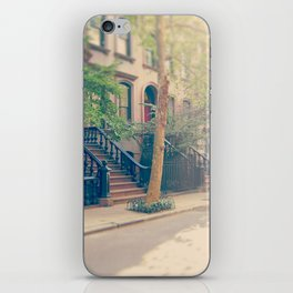 West Village Perry Street New York City iPhone Skin